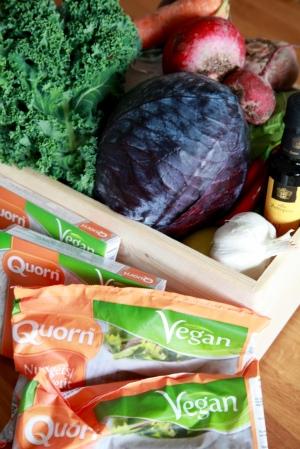 Quorn vegan Vego Eco