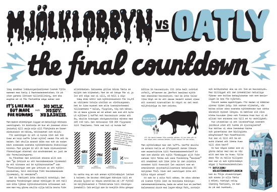 TheFinalCountdown Oatly Vego Eco