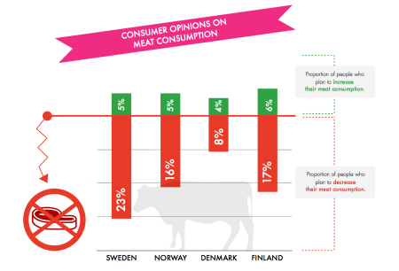 Consumer opinions on meat consumption