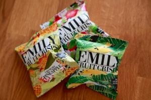 Tre stycken förpackningar av torkad fruktmix