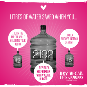veganuary-water-use